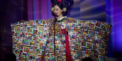 Yebin-Yoo, Miss Corea del Sur Foto:AP