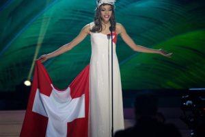 Zoe Metthez, Miss Suiza Foto:AP