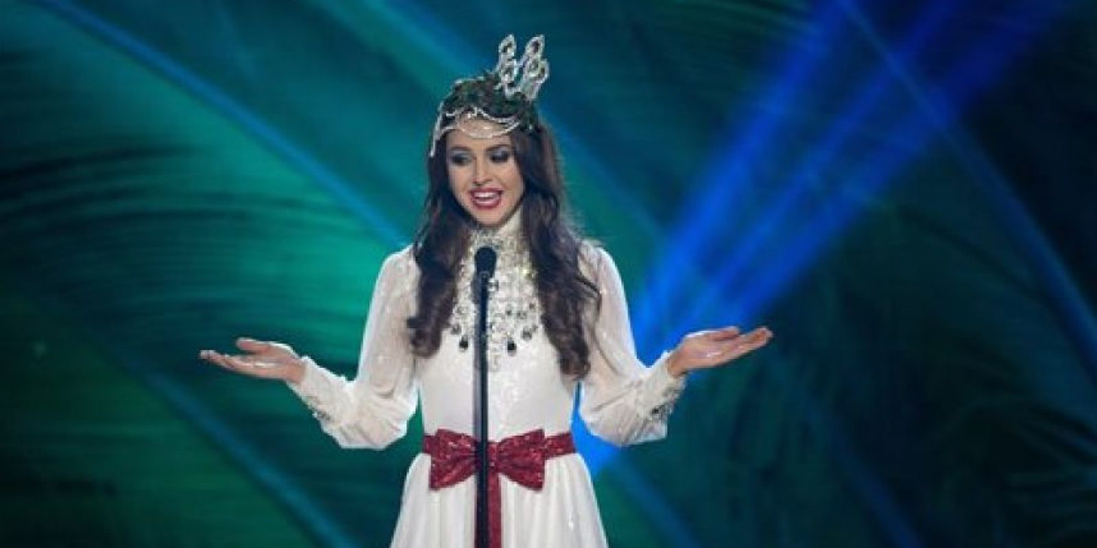 Camilla Hansson, Miss Suecia Foto:AP