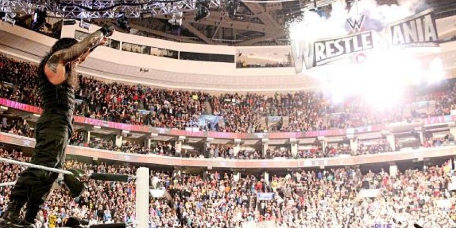 Reigns ganó un boleto para el evento principal de Wrestlemania Foto:WWE