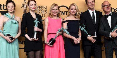 """""""Birdman"""" ganó la categoría de Mejor reparto"""