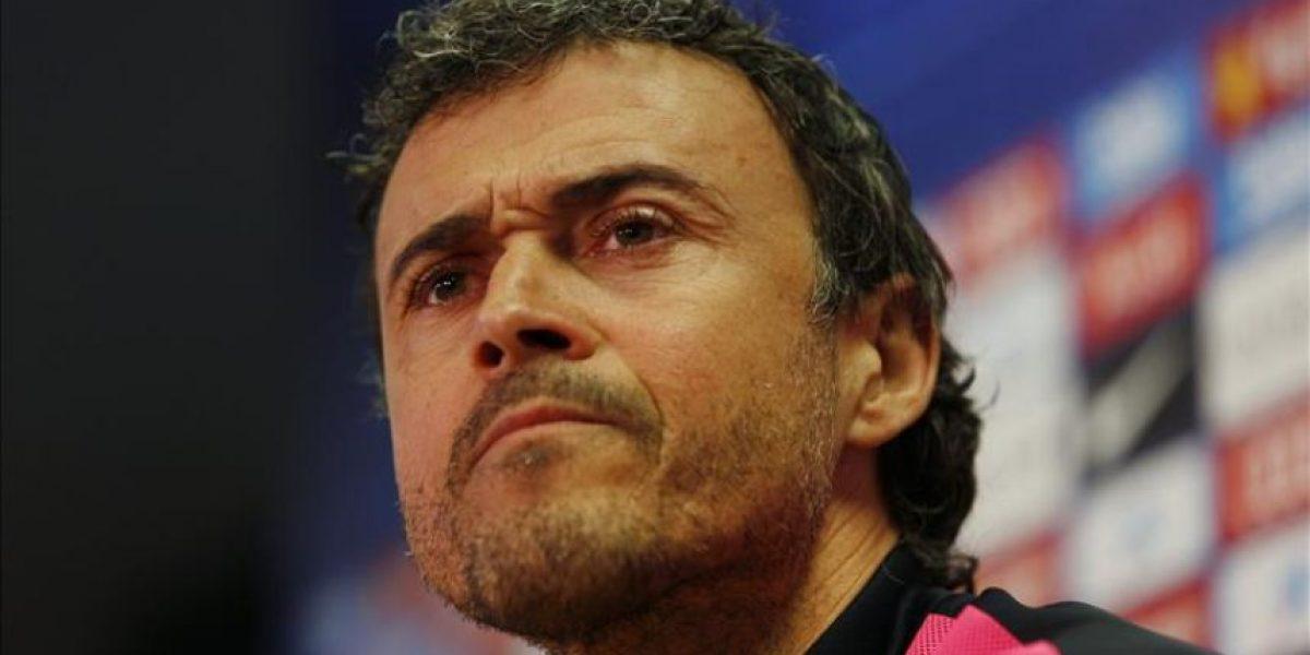 Luis Enrique espera un Atlético que intimide y presione