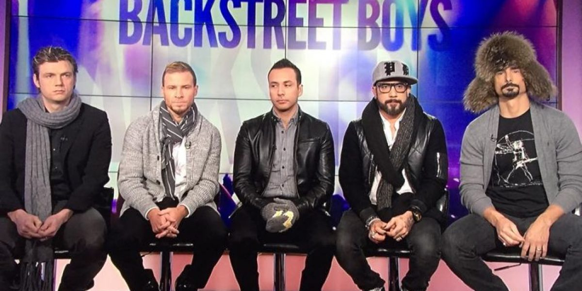 "VIDEO: Así enseñan los Backstreet Boys la coreografía de ""Everybody"""