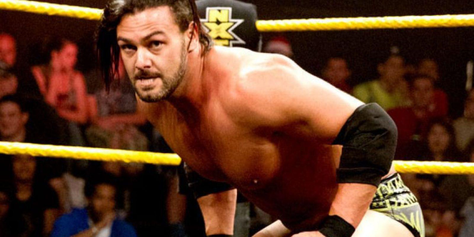 Fue parte del grupo Nexus Foto:WWE