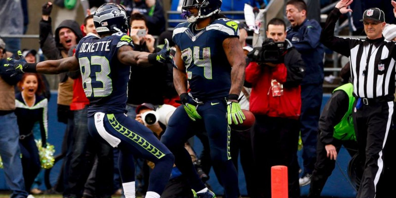 Si los Seahawks vencen, conseguirían el bicampeonato Foto:Getty
