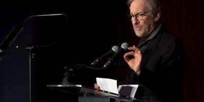 """En Cracovia, Polonia, Spielberg habló durante la presentación de la galería """"The Past is Present"""", en el hotel Holiday Inn el pasado 26 de enero. Foto:Getty Images"""