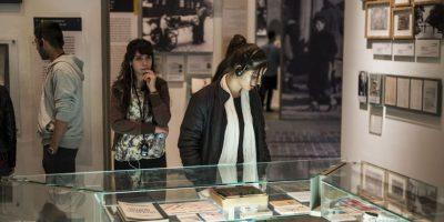 Israel: Visitantes del museo Yad Vashem, en Jerusalem. Foto:Getty Images