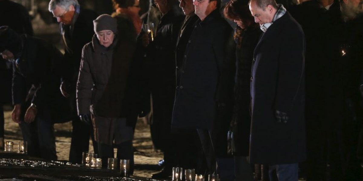 FOTOS: Líderes mundiales recuerdan el horror del Holocausto