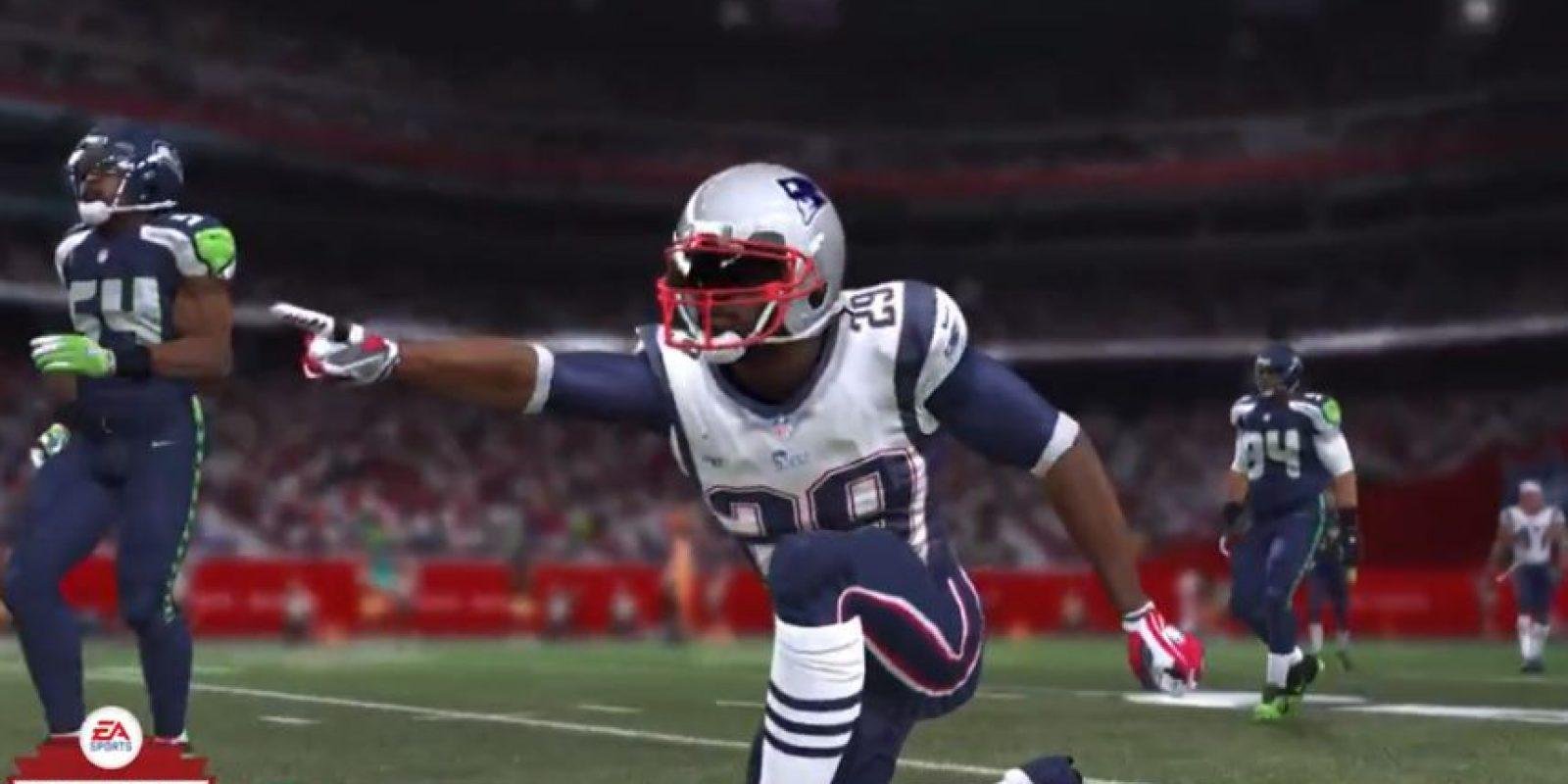 Pero al final se impusieron los Patriotas de Nueva Inglaterra Foto:Youtube: EA Sports