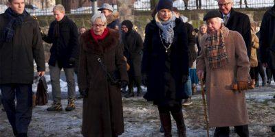 Noruega: La Princesa Mette-Marit y los últimos sobreviviente noruega encabezaron la ceremonia oficial Foto:Getty Images