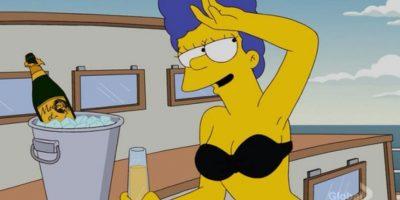 """Marge Simpson, de """"Los Simpson"""" Foto:Fox"""