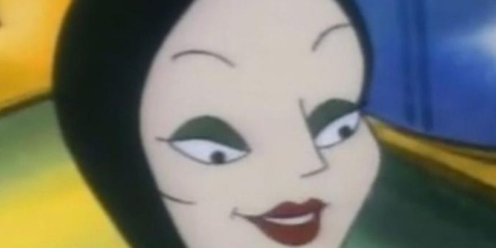 "Morticia Addams, en ""Los Locos Addams"" Foto: Cartoon Network"