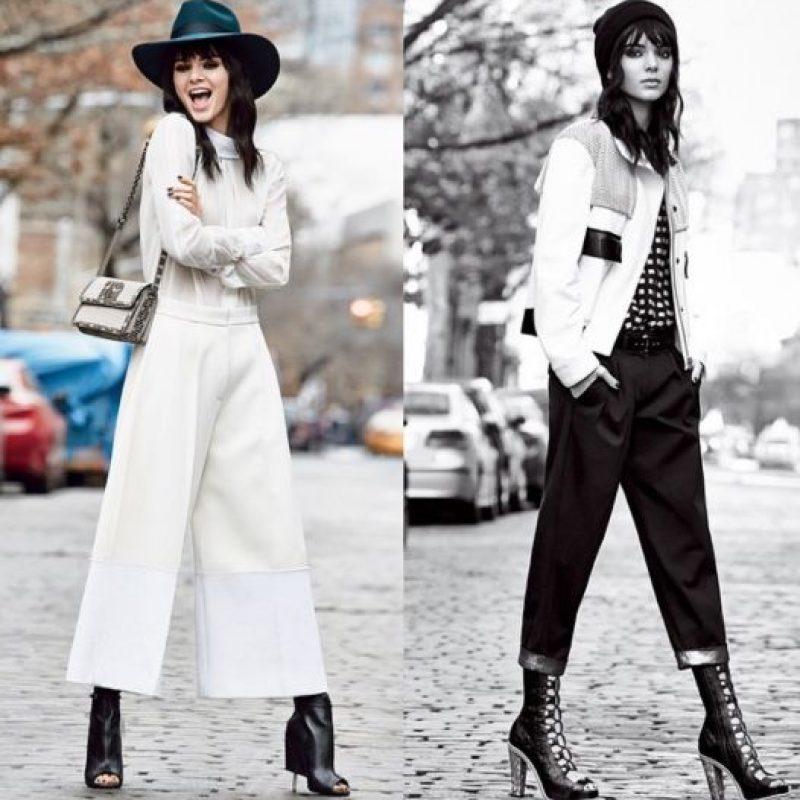 6. Luego de que Kim dio a luz, dijo sentir envidia de la silueta de su hermana, quien es más alta y esbelta que ella. Foto:Instagram/Kendall Jenner