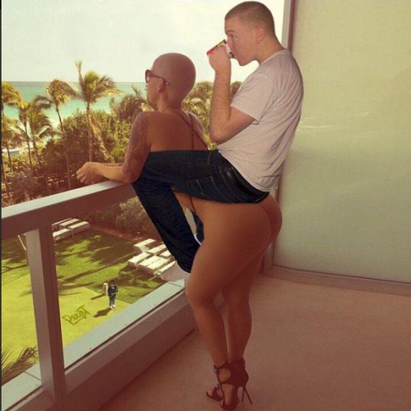 Con Amber Rose Foto:Instagram/peejet