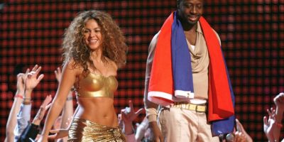 "Shakira y Wyclef Jean ""Hips Don't Lie"" Foto: Getty Images"