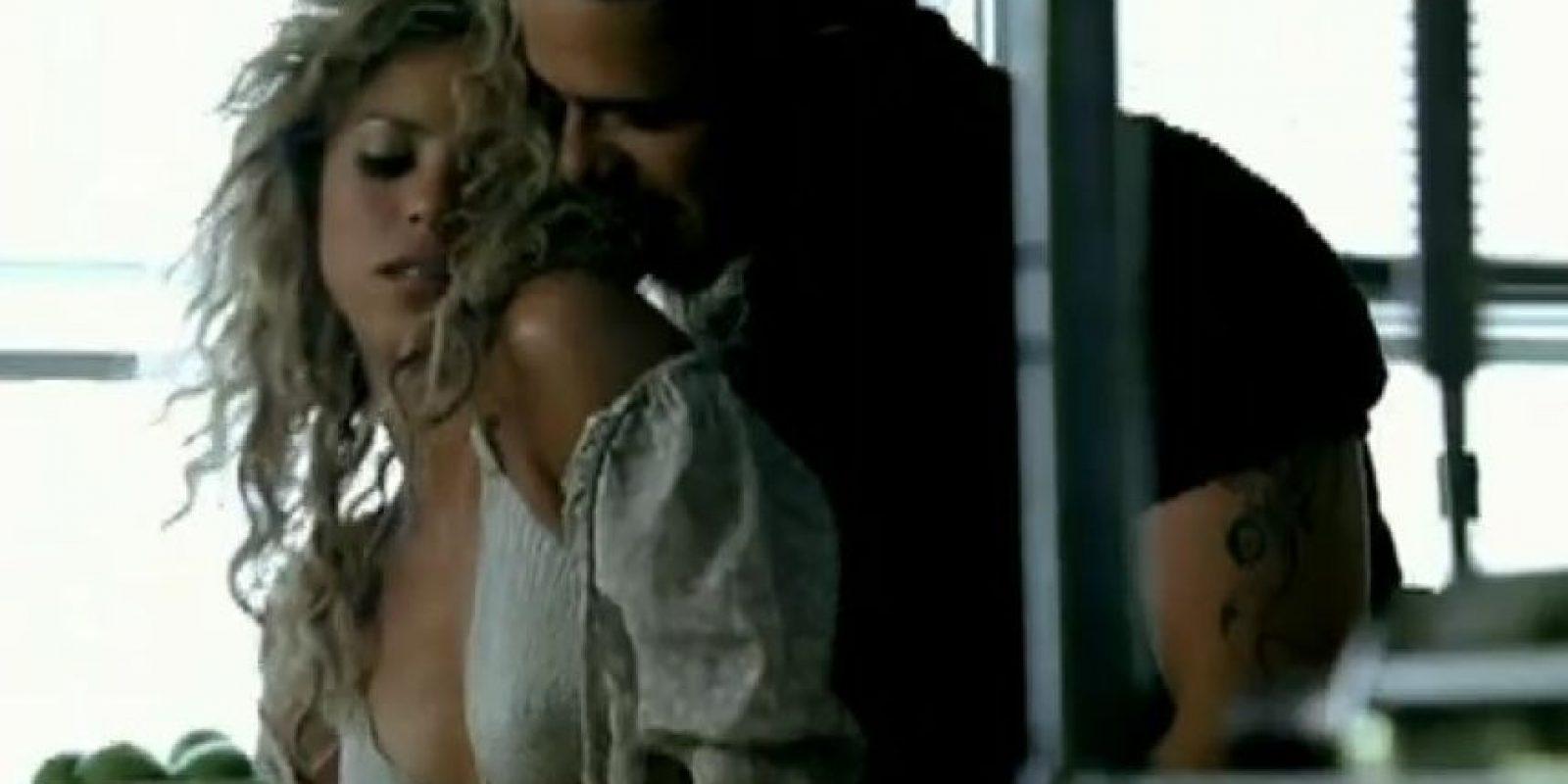 """Alejandro Sanz y Shakira en """"La Tortura"""" Foto:Vimeo"""