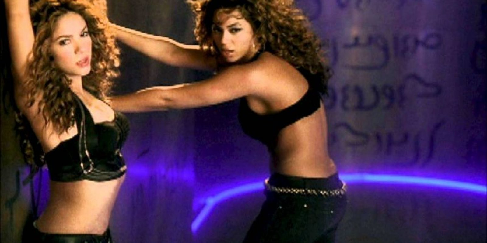 """Shakira y Beyoncé en """"Beautiful Liar"""" Foto:Vimeo"""