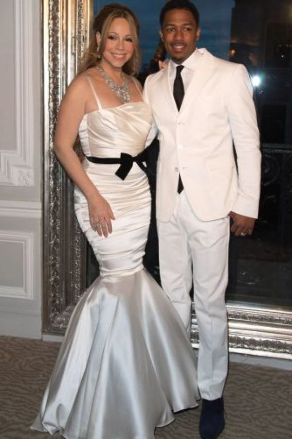 Nick Cannon y Mariah Carey