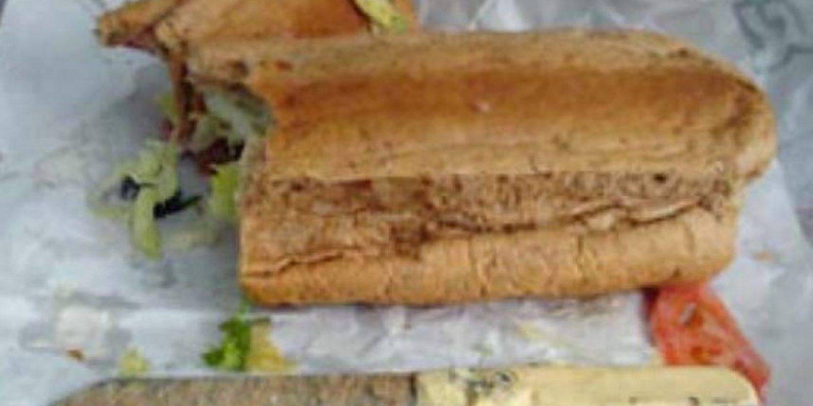 Cuchillo para partir el sandwich Foto:Viralnova