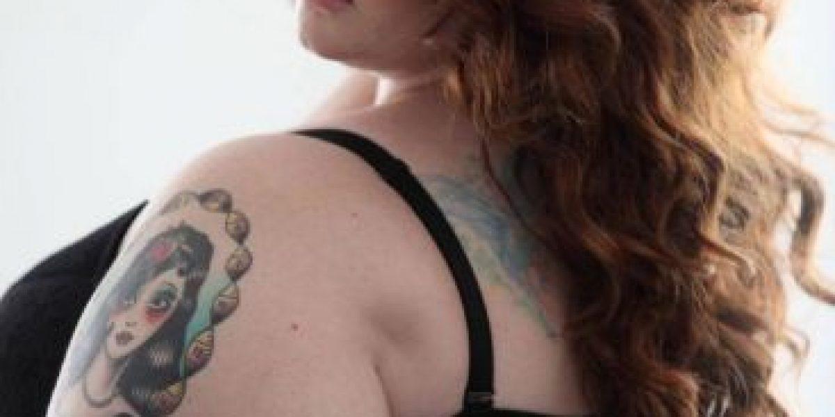FOTOS: Esta mujer talla 22 obtuvo millonario contrato de modelaje