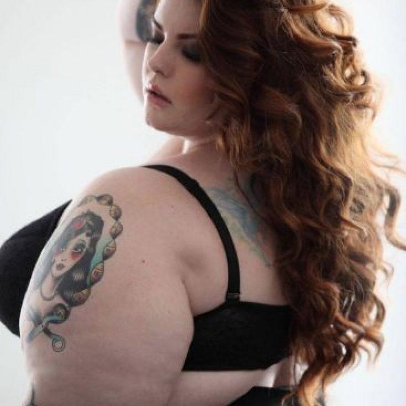 """Tess Munster es una de las más famosas modelos """"plus size"""" del mundo. Foto:Tess Munster/Facebook"""