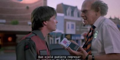 """""""Volver al futuro"""" (1989) Foto:YouTube"""