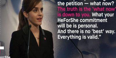De esta manera les ha dado coraje para seguir su causa. Foto:Emma Watson/Twitter