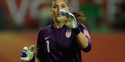 Hope Solo – Estados Unidos. Medalla de oro en Beijing 2008 y Londres 2012 con la Selección Femenina de Fútbol. Foto:Getty Images