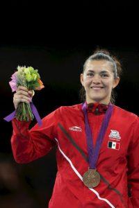 Maria del Rosario Espinoza – México. Medalla de oro en Beijing 2008 y bronce en Londres 2012 en taekwondo. Foto:Getty Images