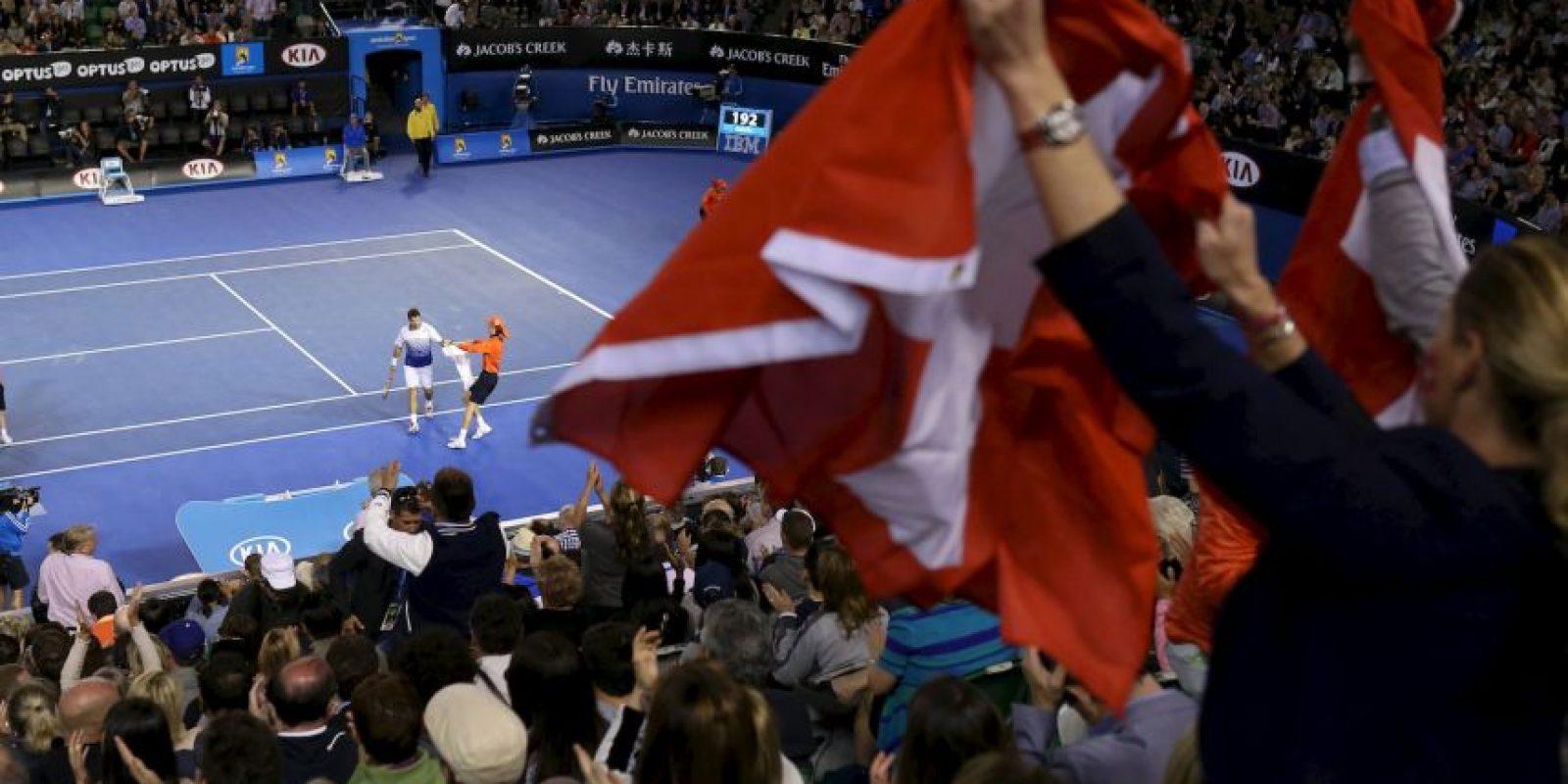El color de la afición Foto:AFP
