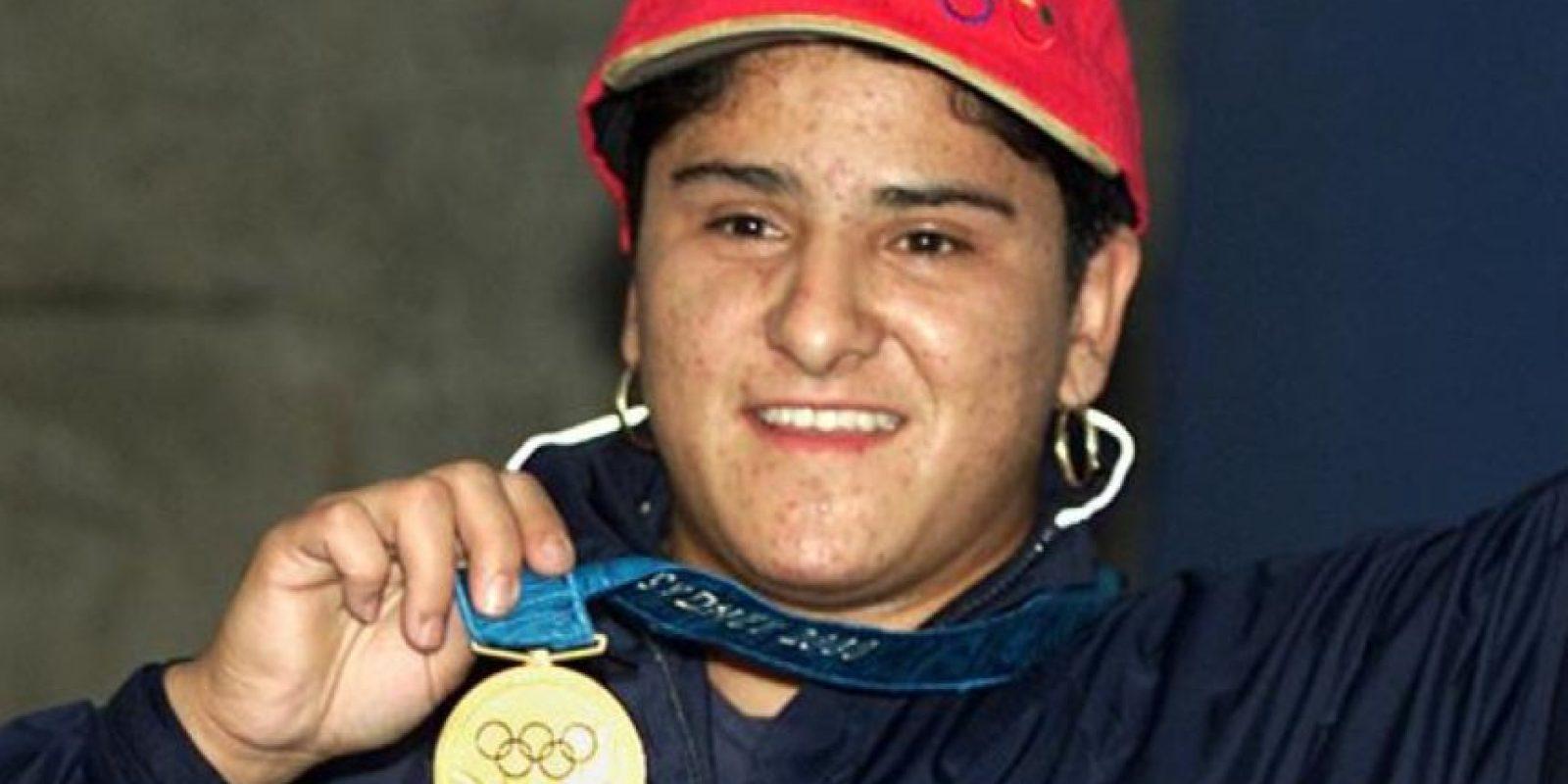 Soraya Jiménez – México. La primera mujer medallista de su país al obtener el oro en halterofilia en Sidney 2000. Foto:Twitter