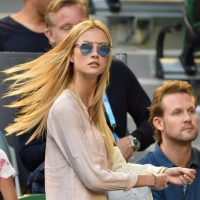 Ester Satorova, novia del checo Tomas Berdych Foto:Getty