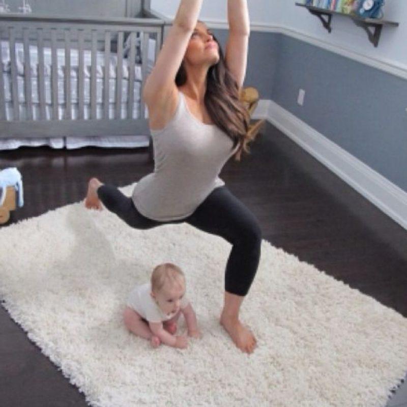 Ahora ha realizado videos de yoga y fitness Foto:Instagram: @trishstratuscom