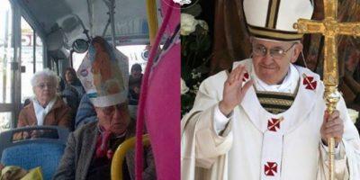 El Papa Francisco Foto:Parecidos De Bondis/Facebook