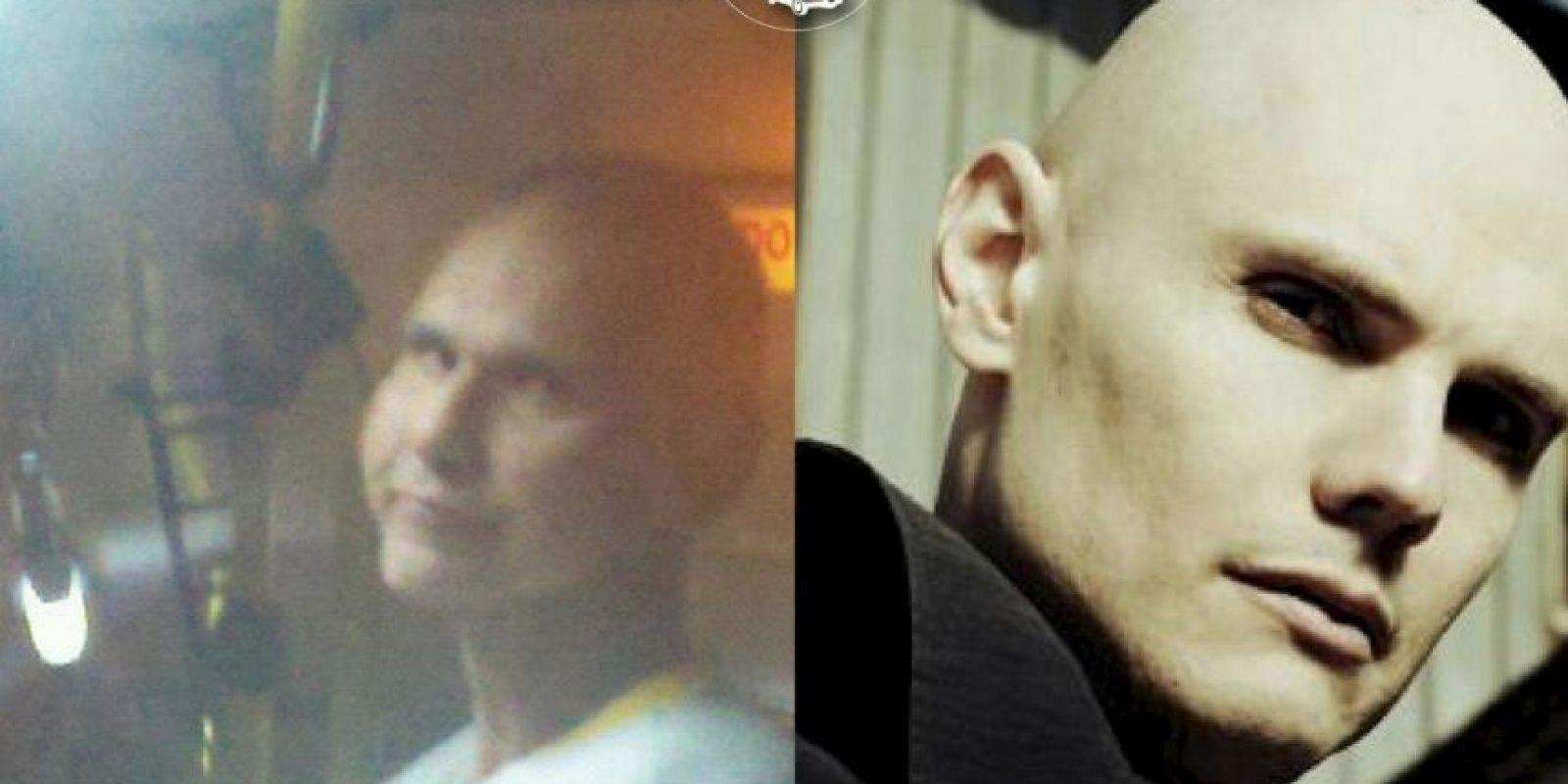 "Billy Corgan, cantante de ""The Smashing Pumpkins"" Foto:Parecidos De Bondis/Facebook"