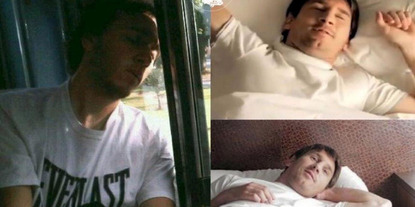 Messi Foto:Parecidos De Bondis/Facebook