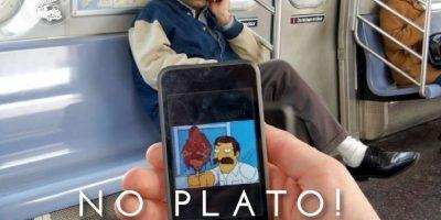 """El iraquí del capítulo de Homero en Nueva York en """"Los Simpsons"""" Foto:Parecidos De Bondis/Facebook"""