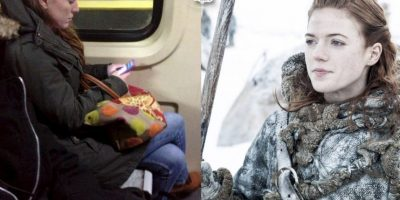 "Ygritte, de ""Game of Thrones"" Foto:Parecidos De Bondis/Facebook"