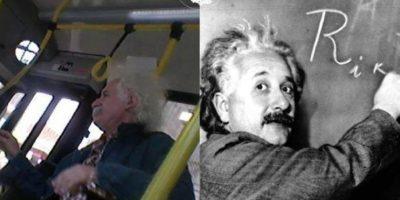 Albert Einstein Foto:Parecidos De Bondis/Facebook