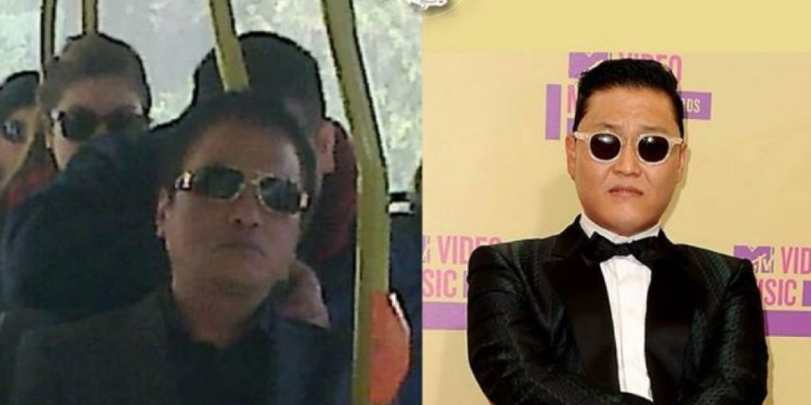 Psy, cantante coreano Foto:Parecidos De Bondis/Facebook