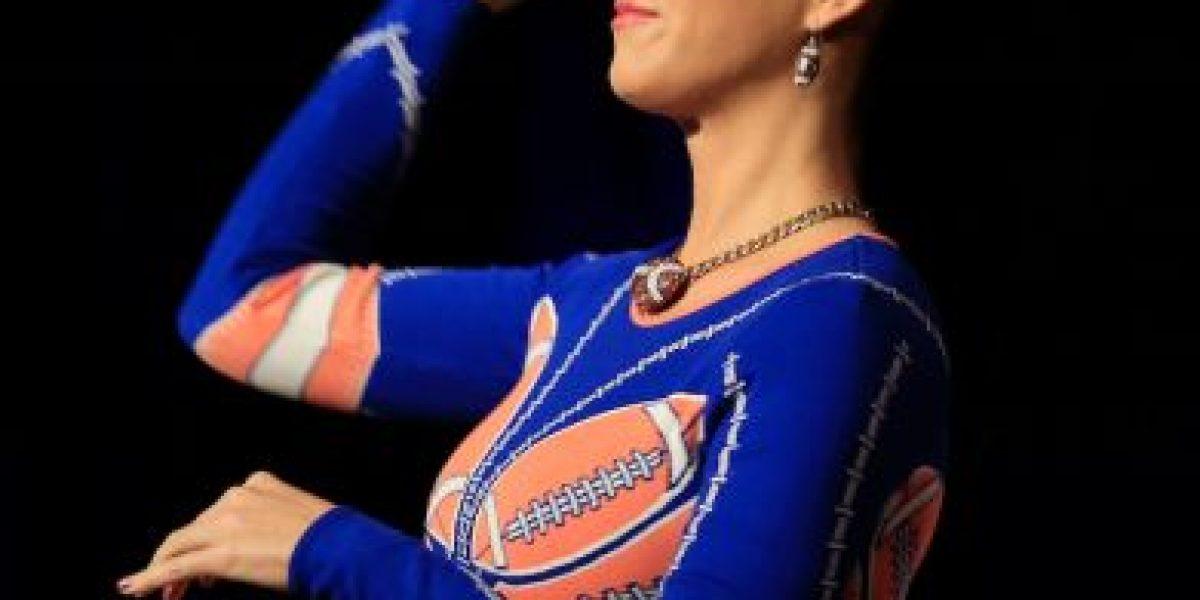 FOTO: Katy Perry lleva su sensualidad a los vestidores del Super Bowl