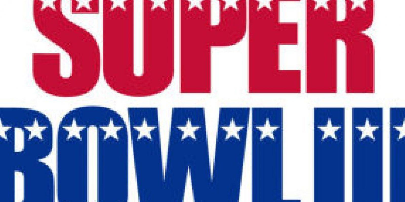 Super Bowl III Foto:Twitter