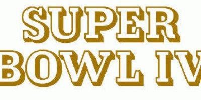 Super Bowl IV Foto:Twitter