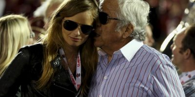 El propietario de los Pats mantiene una relación con Ricki Noel Lander Foto:Getty