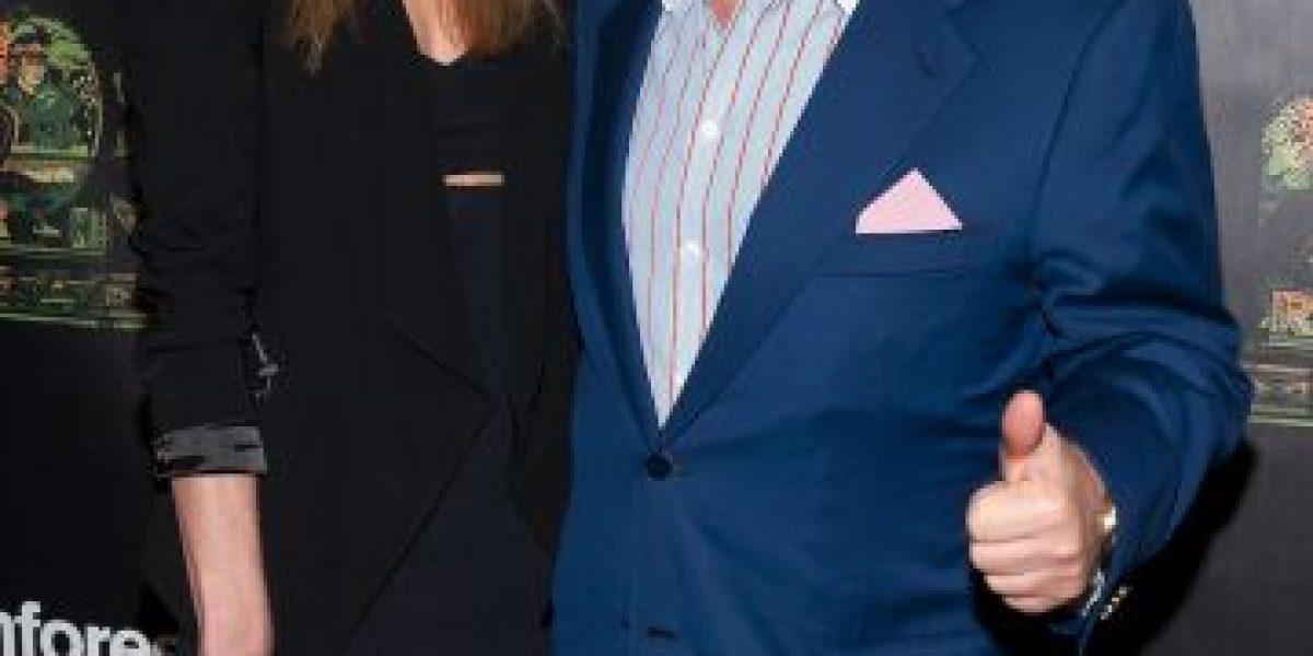 Super Bowl: Dueño de los Patriotas tiene una novia 38 años más joven