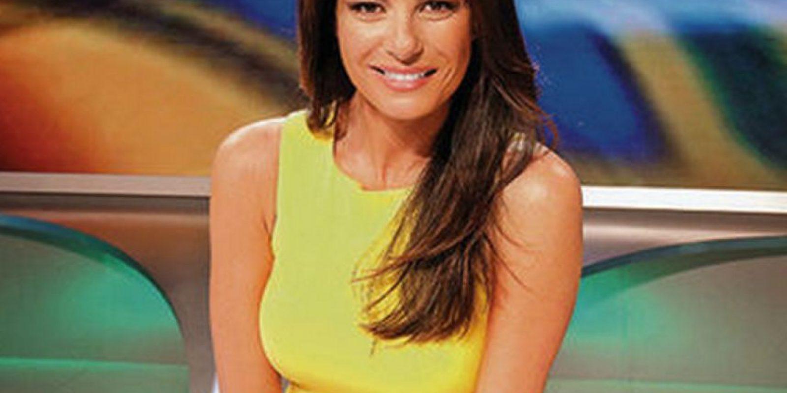 The Sun la ubicó entre las 10 periodistas más sexis del mundo, en 2009 Foto:Facebook: Ilaria D'Amico