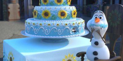 Este es el pastel de Anna Foto:blogs.disney.com