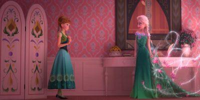 Los nuevos vestidos de Elsa y Anna Foto:blogs.disney.com