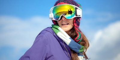 RideOn son los primeros lentes de realidad aumentada para esquí y snowboard. Foto:RideOn