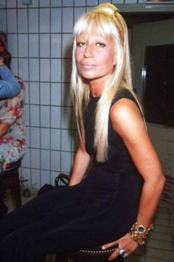 Así cambió Donatella Versace a través de los años Foto:Vogue